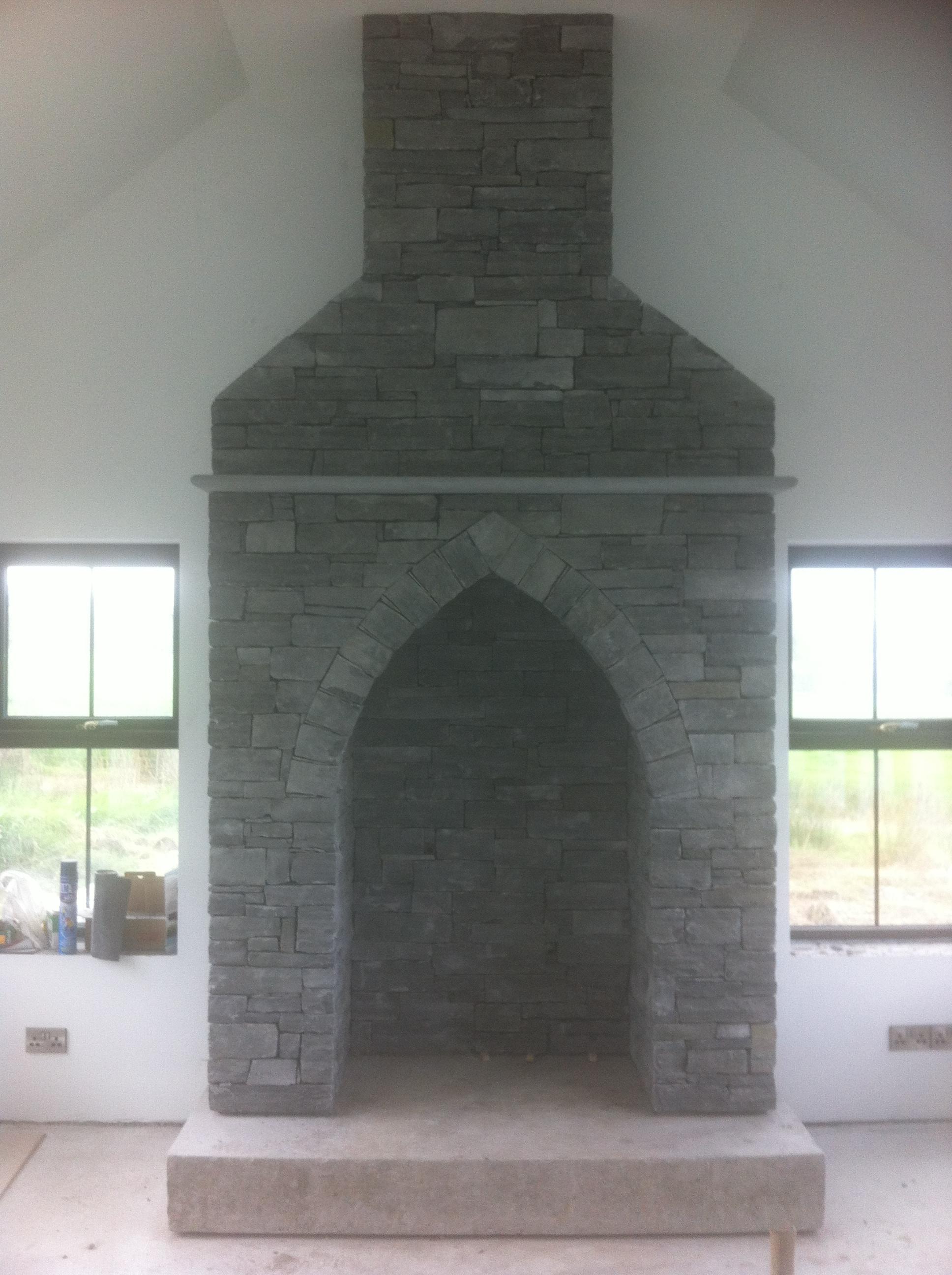 natural stone masonry fireplace built by stonemasons tmcstoneworks